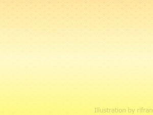 カード カードフレーム素材無料 : 菱紋 和風背景 黄色2 イラストAC