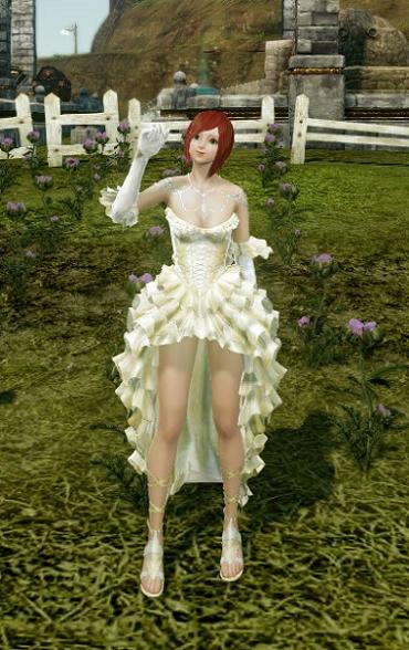 1月10日ウエディングドレス