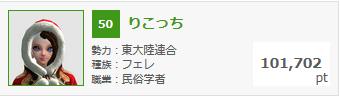 1月23日錬金熟練度ランキング
