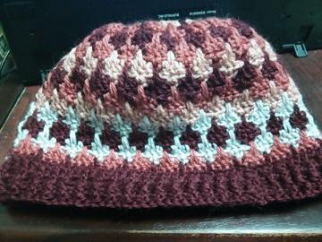 2月22日ニット帽子2