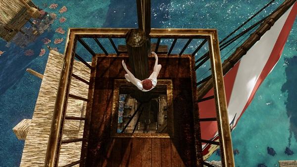4月11日船の上で