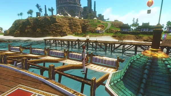 5月23日蜃気楼の島で遊覧船2