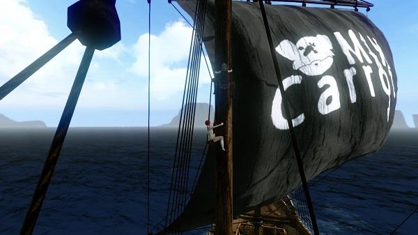 5月24日相方さん船の帆2