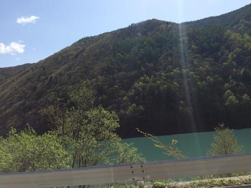車からの景色