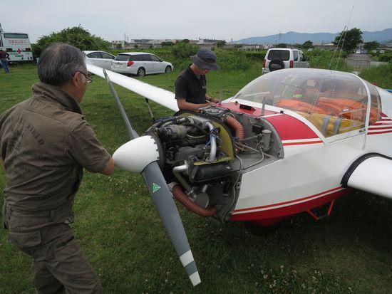 モーターグライダー SF25C ドイツ製鋼管羽布張製複座機 - RV4ワイルドグース 二階堂裕のブログ 路外機動帖 Returns