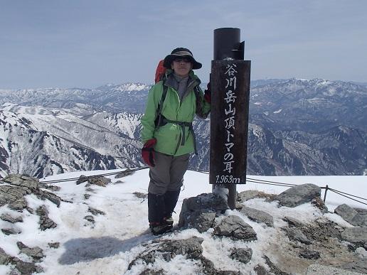 谷川岳トマの耳山頂