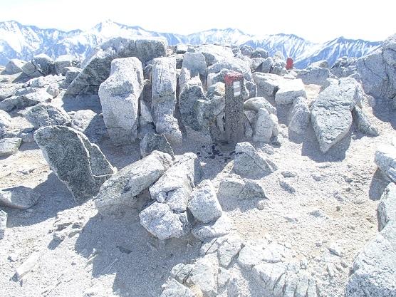 真砂岳山頂