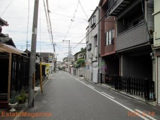 昭和前面道路