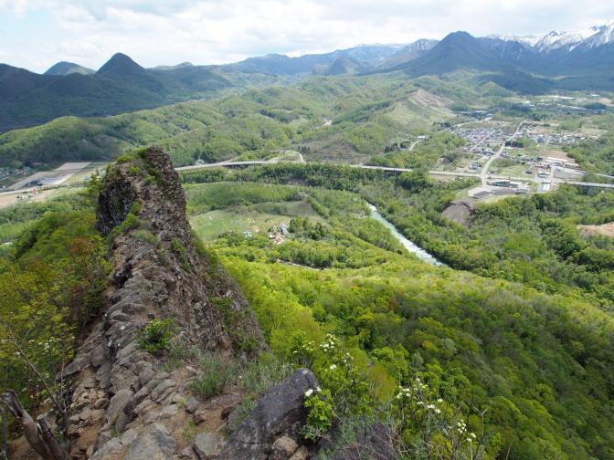 八剣山からの景色