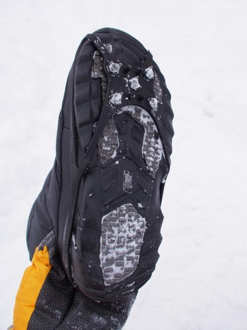 ヌプシブーティに軽アイゼンで冬山登山