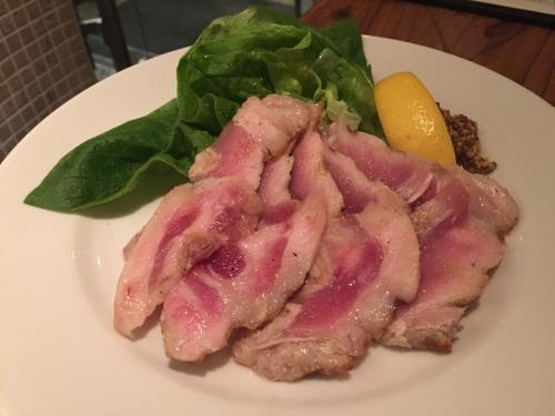 芳寿豚のレアグリル150g