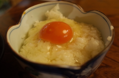 蘭王卵かけご飯2
