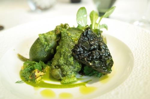赤穂牡蠣のベニエ vert 緑