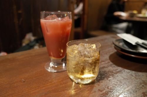 カシスオレンジと梅酒