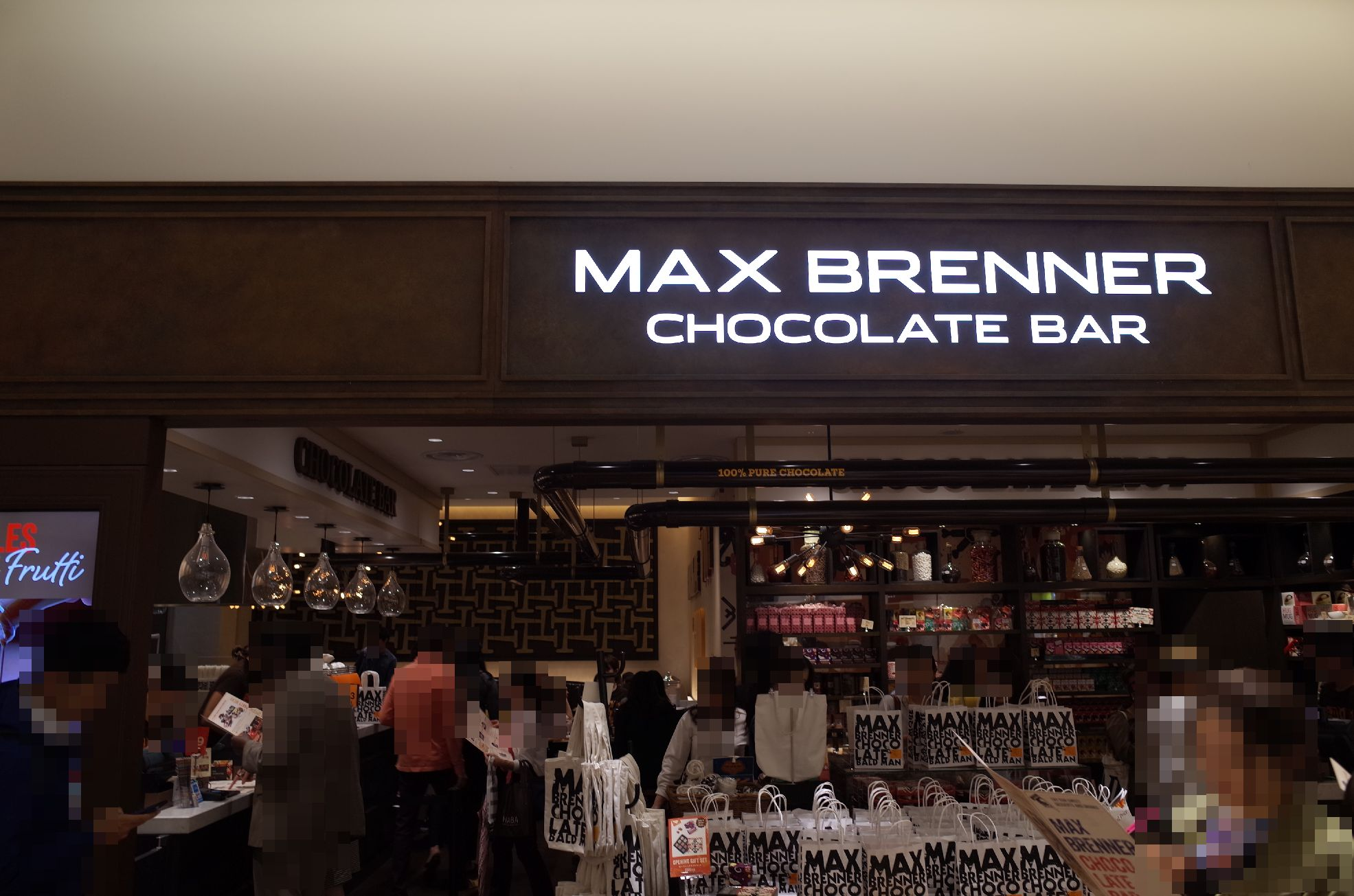 max brenner chocolate bar lucua osaka by. Black Bedroom Furniture Sets. Home Design Ideas