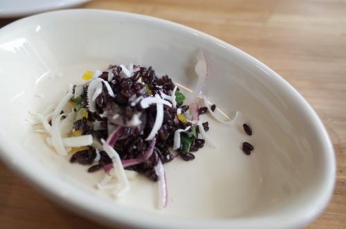 黒米サラダ カチョリコッタ