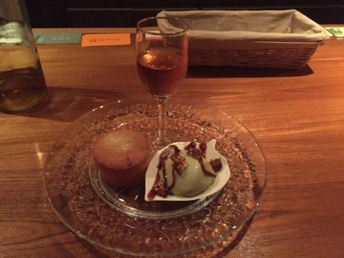 甘口ワインと久木さんのドルチェのマリアージュセット