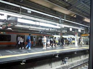 20140804新宿駅