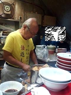 20141220ラーメン二郎三田本店(その3)