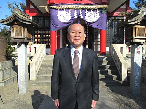 代表取締役社長、松本です