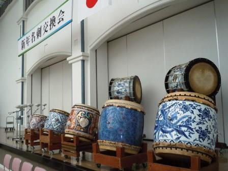 有田磁器太鼓初打ち1(2015-01-03)