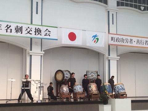 有田磁器太鼓初打ち5(2015-01-03)