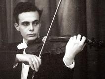 ヴァイオリンを弾く若きマゼール
