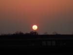 まっかな夕陽