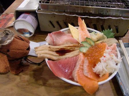 海鮮丼、いただきましゅ