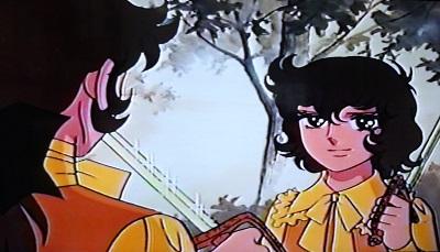 この剣をくれたってことは ジャルジェ将軍もアンドレを気に入ってたんですね