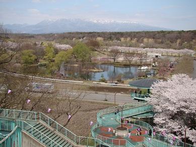 公園と那須山