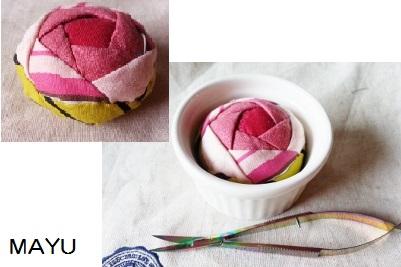 薔薇のピンクッション 2015.1.25