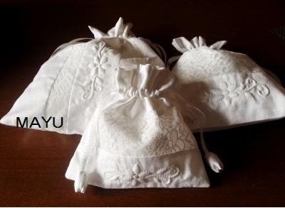 ワンポイント ブティの巾着 2015.3.21