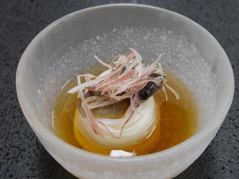 一口鮎素麺
