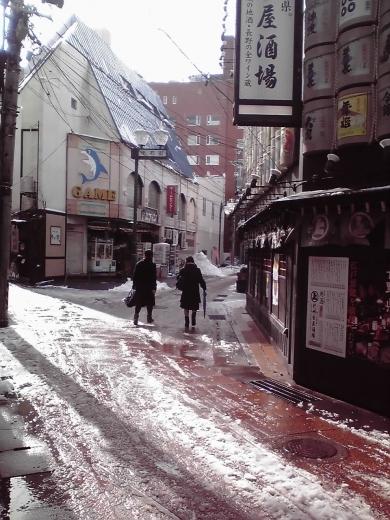 千石街の小路