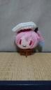 ピンクの毛糸がこんがらがってたので編みつつ消化してしまいました