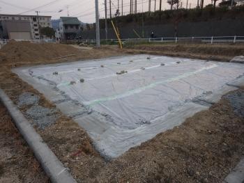 砕石・防湿シート
