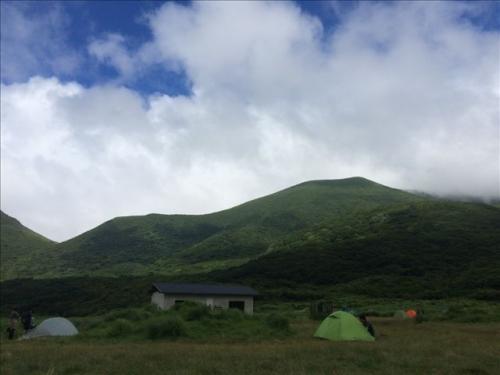 坊がつる キャンプ場