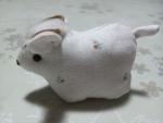 ミニ羊(今年の干支)