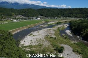 中川村風景