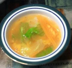 4月18日食卓スープ