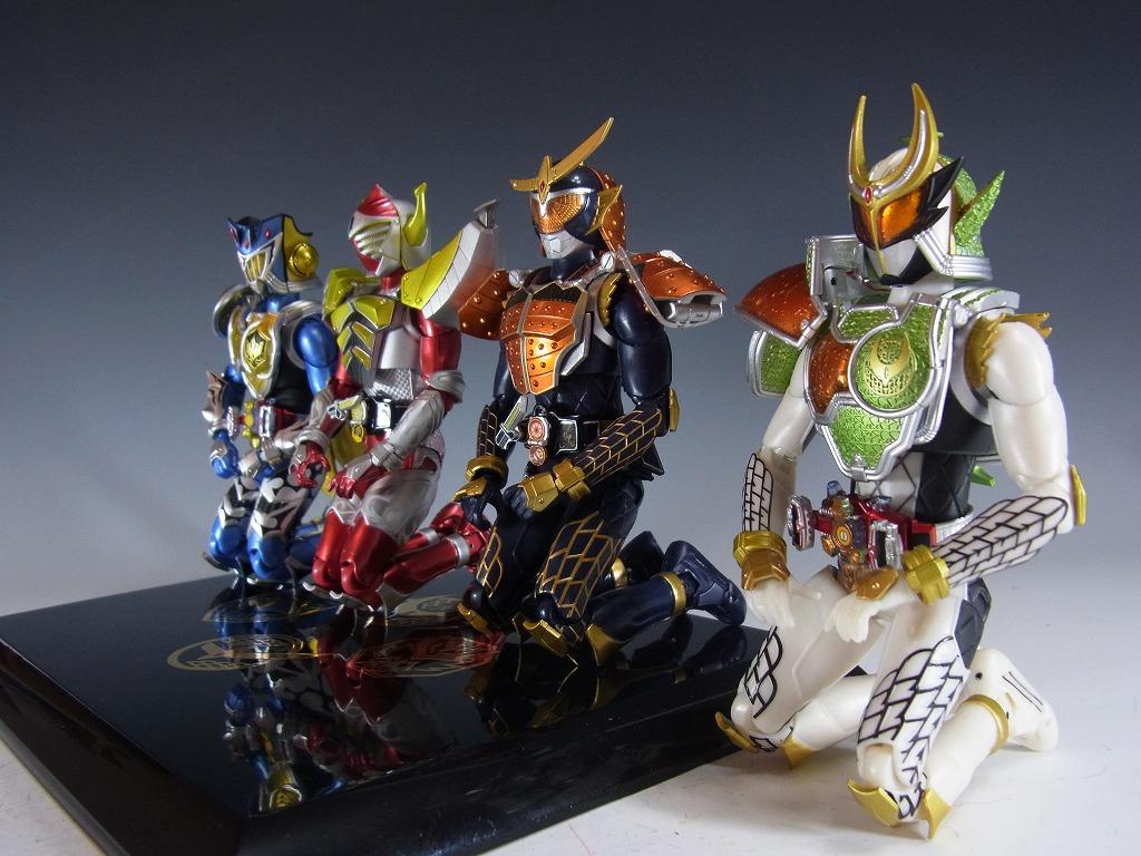 鎧武正座4人衆