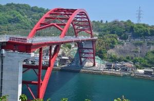 第三音戸大橋から見た第二音戸大橋