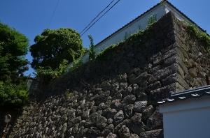 御根小屋跡</a><br />の石垣