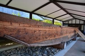 高瀬舟(復元されたもの)