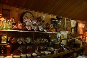 旧酒蔵展示館内部