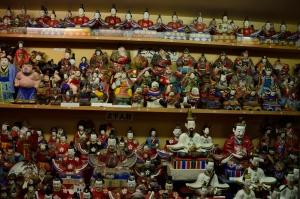 人形館の中の人形
