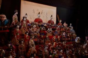 人形館の中の土人形