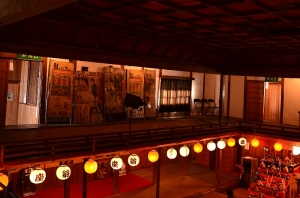 翁座 映写室