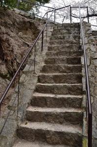 清盛塚階段